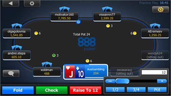 party poker app for blackberry